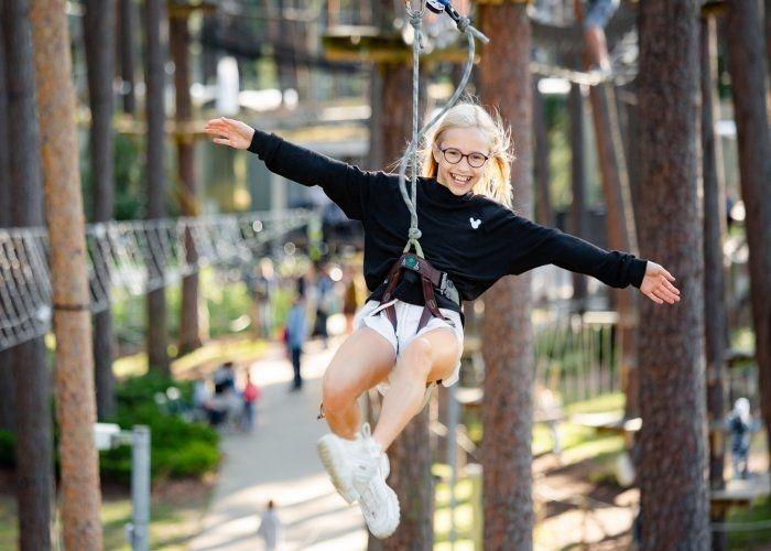 Парки Тарзана в Сигулде, Юрмале и Даугавпилсе будут частично открыты 1 мая!