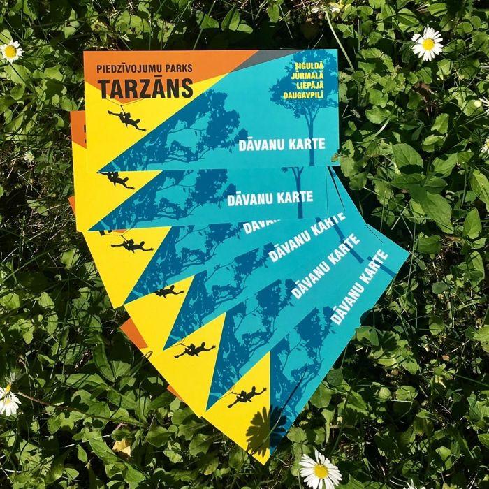 Tarzāna dāvanu kartēm pagarināti termiņi