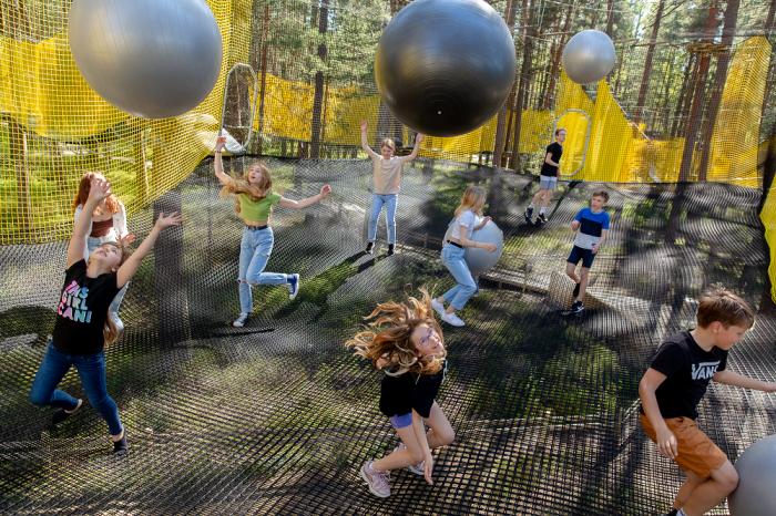 New Net Adventure Park in Jurmala is now Open!